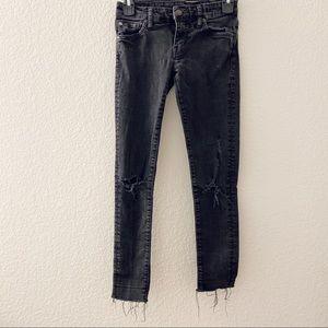 Size: 25  Black Denim & Supply Ralph Lauren